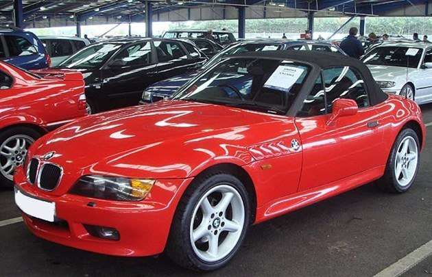 BMW Z3 F34 Red Retouched