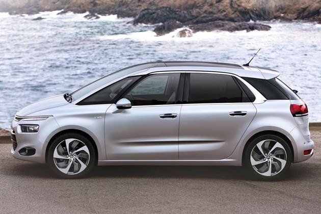 Citroen C4 Picasso 2013 Side