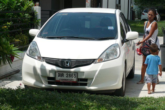 Honda Jazz Rental Side Of House
