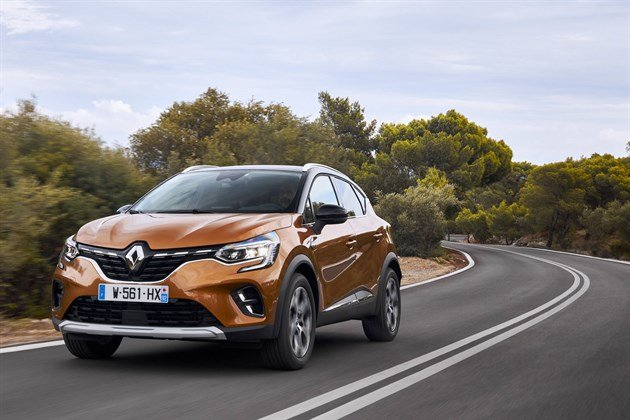 Renault Captur 2020 F34 Cornering Best (1)