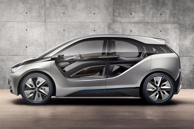 BMW I 3 Side Doors Closed