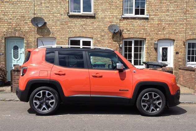 Jeep Renegade 2WD Red Side