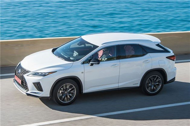 Lexus RX450h 2019 F34 From Top