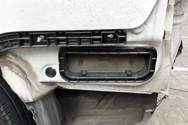 Cabin Vent Behind Bumper Valence