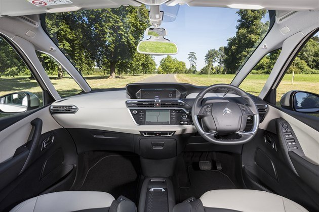 Citroen C4 Picasso EAT6 Dash 2016