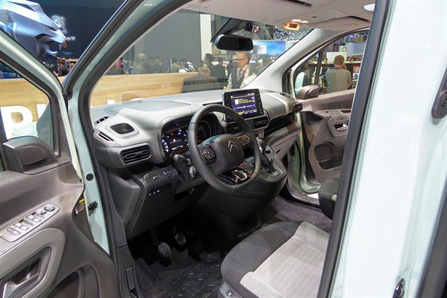 Citroen Berlingo 2018 Cockpit