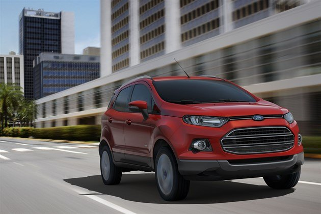 Ford Eco Sport A 2013 F34 Red Speed