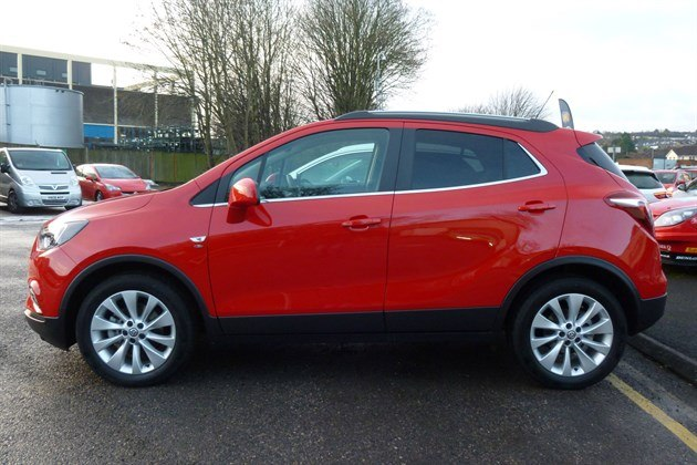 Vauxhall Mokka X Elite 2018 Side