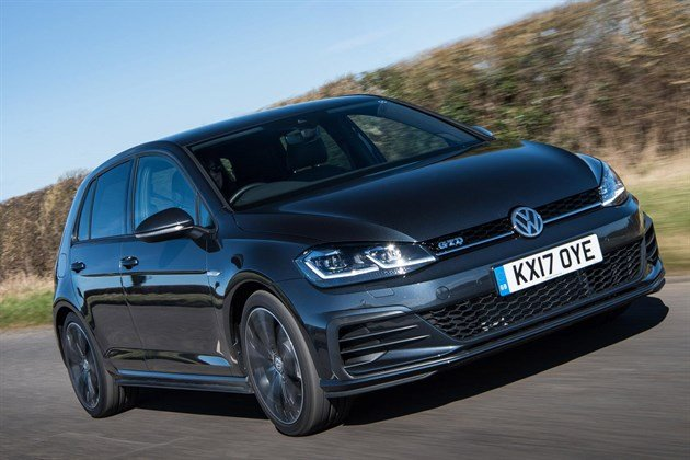 VW Golf GTD 2017 Facelift F34