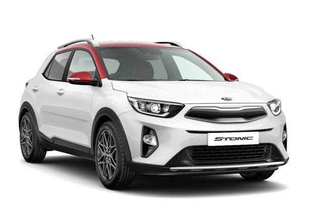 KIA Stonic Maax In  White And Red 2020