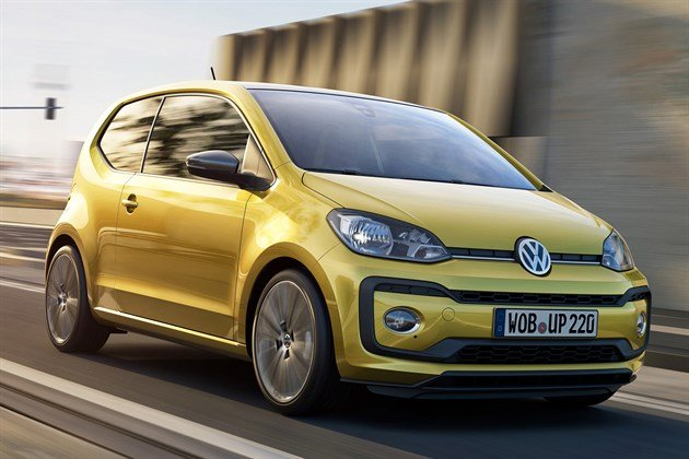 VW Up 2016 Facelift