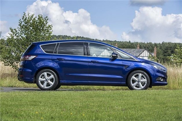 Ford S-MAX 2015 Side Blue