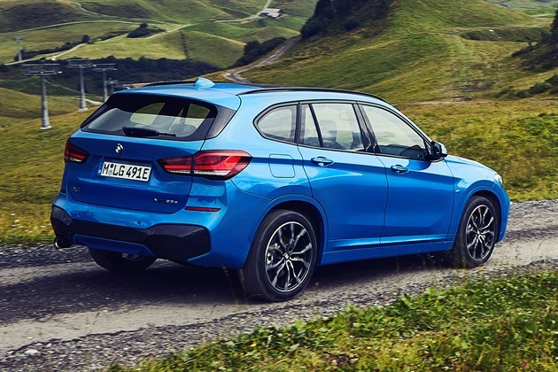 BMW X2 xDrive25e plug-in hybrid revealed