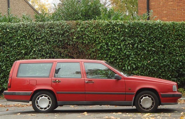 Volvo V70 C 1999 Side Red