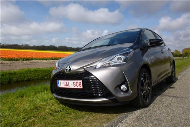 Toyota Yaris 2017 Gunmetal F34 Flower Field