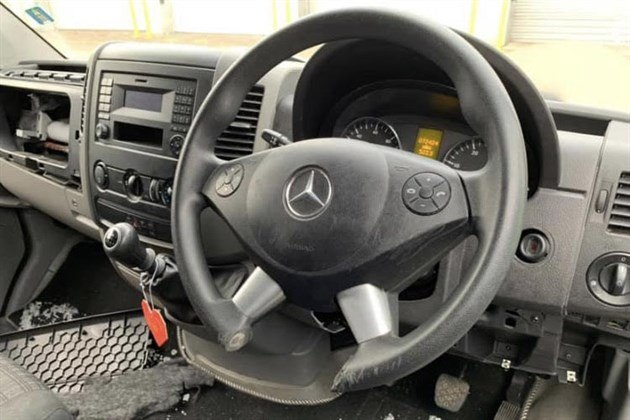 Steering Wheel Cut To Remove Lock
