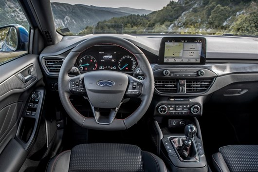 2020 Ford Focus Inside