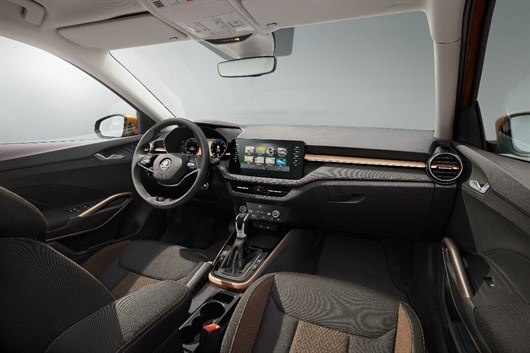 Skoda Fabia 2021 Interior  - skoda fabia 2021 interior 530x353 - 2021 Skoda Fabia: Fresh tech and much more space | Motoring News