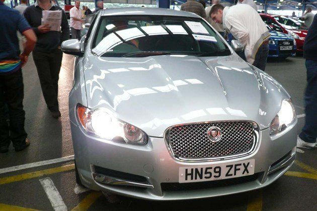 jag xf 3.0d auction 700