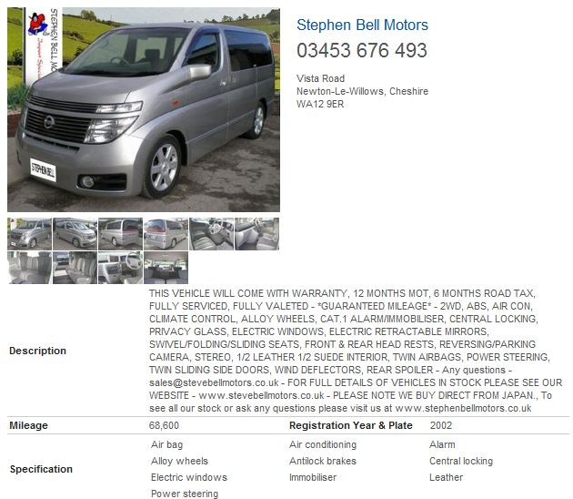7413ab6beb Japanese imports spotted in the classifieds