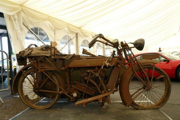 Matchless 1920 Twin With Sidecar