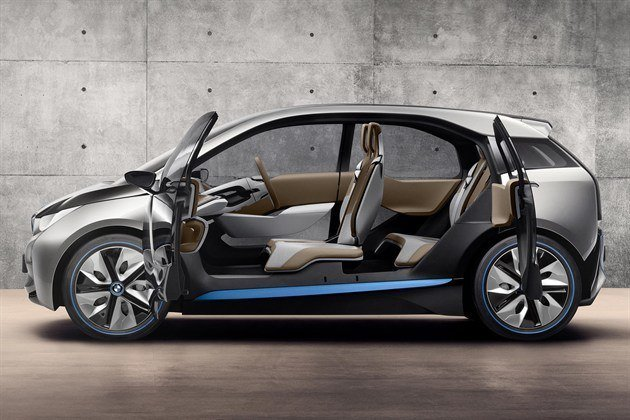 BMW I 3 Side Doors Open