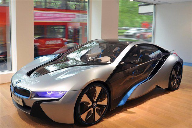 BMW I 8 Showroom