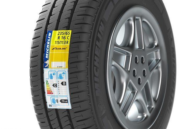 Michelin Agelis Tyre Lable