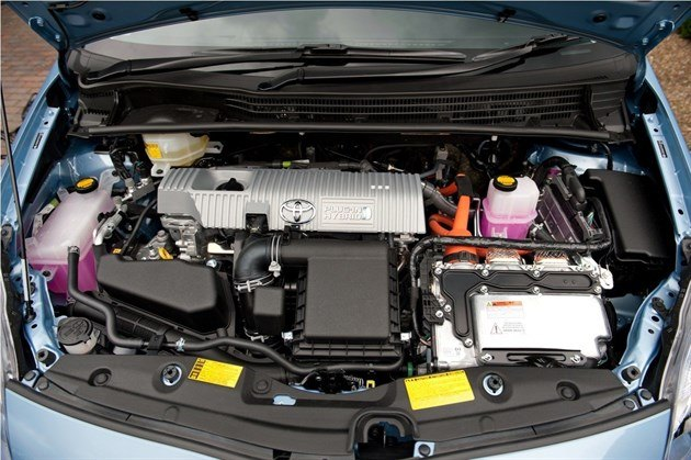 Toyota prius plug in 2012 road test road tests honest john for Prius electric motor for sale