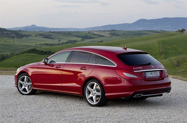 Mercedes -Benz CLS Shooting Brake (1)