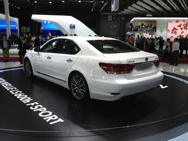Paris motor show 2012 lexus shows new ls motoring news for Garage lexus paris