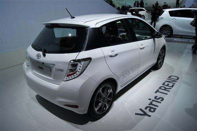 Paris Motor Show 2012 Toyota reveals improved Yaris Trend