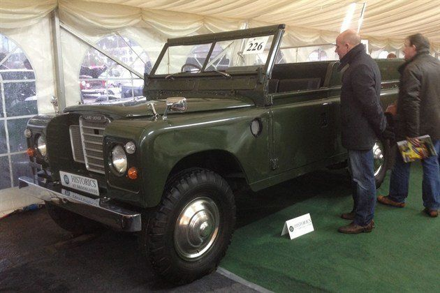Land Rover Parade Car Historics