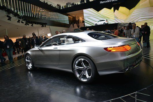 Mercedes -Benz S-Class Coupe (1)