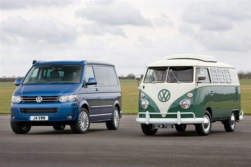 VW Campers 2013 And 1967