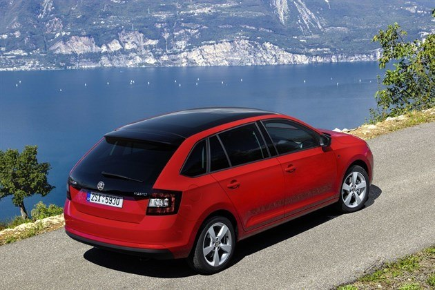 Skoda Rapid Spaceback Pan Roof 1