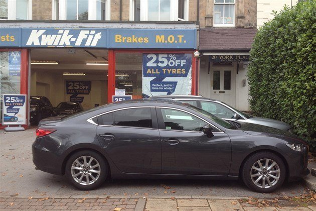 Mazda 6 Kwik Fit Harrogate