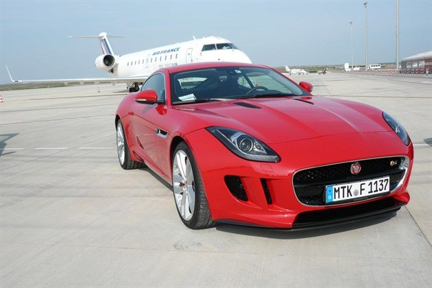 Jag F Type Cpe Red F34 Plane