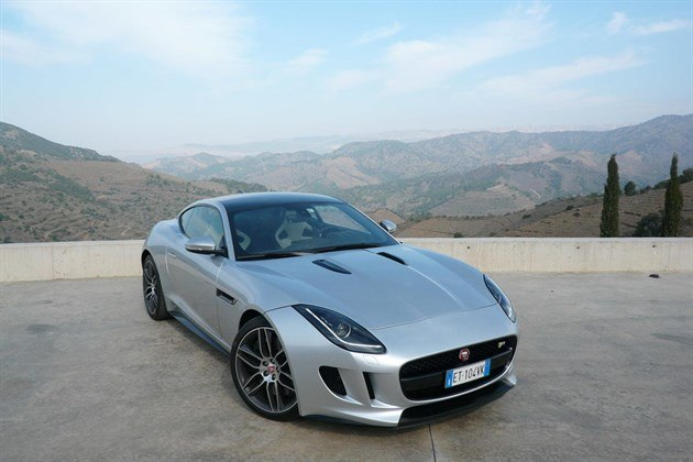 Jag F Type Cpe Silver Mountains