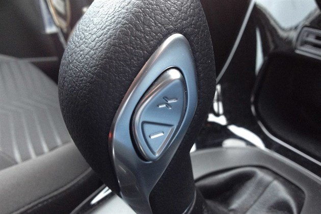 Ford Fiesta Powershift Up Down Button