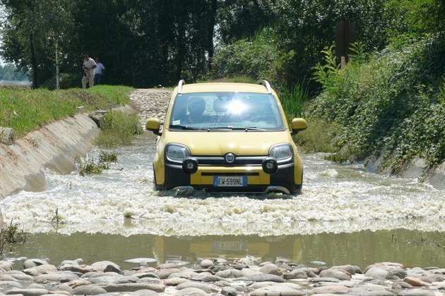 FIAT Panda Cross Water