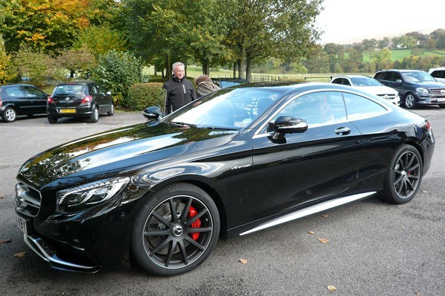 Mercedes S63 AMG Coupe F34 Black