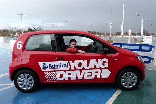 Reece Buttery Was The First Official Entrant Of The 2014 Young Driver Challenge