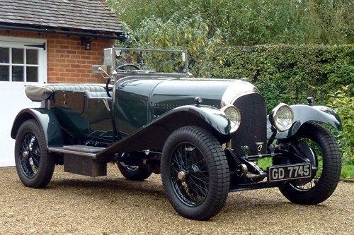 Bentley 3.0 Litre Speed 1927 HH Impney (1)