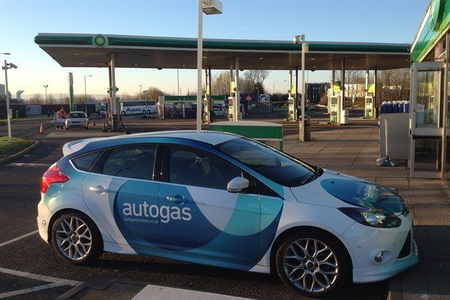 Ford Focus LPG Donington BP