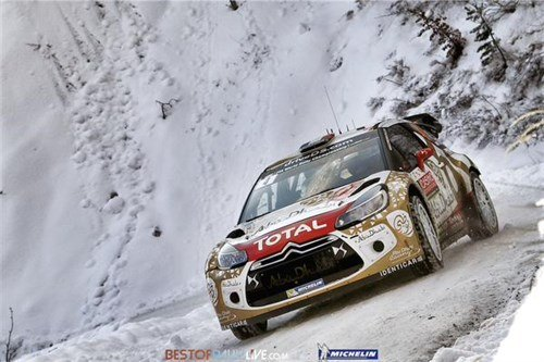 Citroen DS3 Monte Carlo Rally 2015