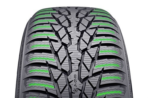 Nokian WRD4 Sipe Activators And Wear Indicator