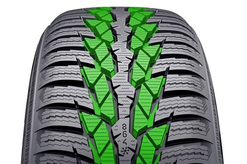 Nokian WRD4 Snow Blocks And Wear Indicator