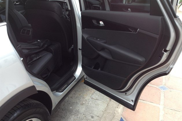 KIA Sorento 2015 Clean Sill Door Seals