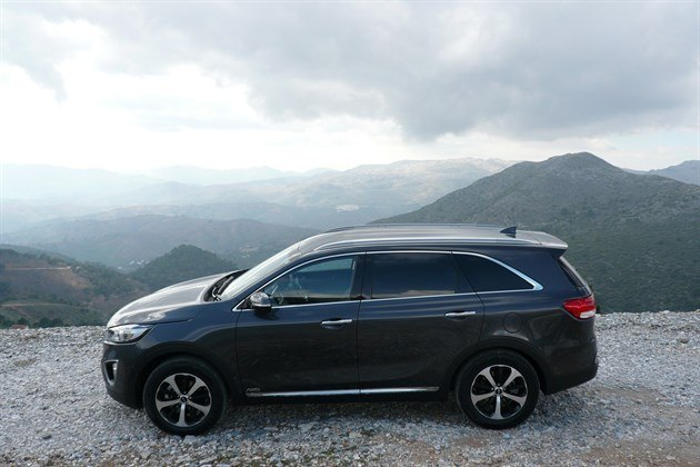 KIA Sorento 2015 Side 1 Mountain